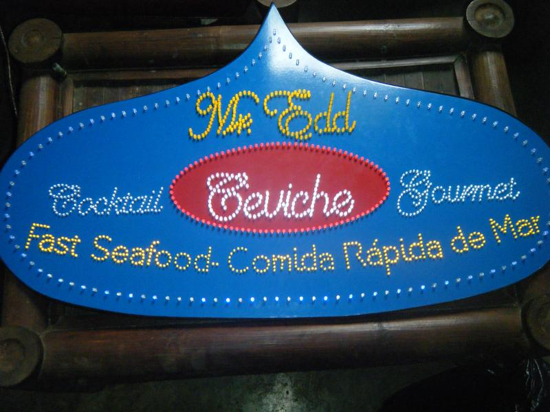 Mr. Edd Cocktail Ceviche Gourmet